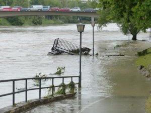 flood waters