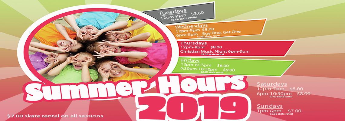Summer 2019 hours web